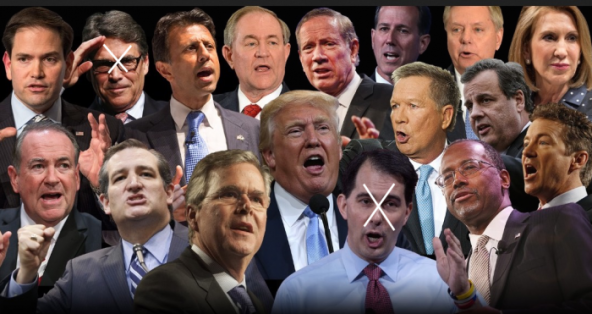 and then there were 15 GOP